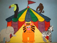 LOTS of great circus theme ideas: Math, science, art, songs, books, writing, etc.