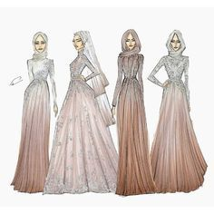 Hijabi Fashion Sketch