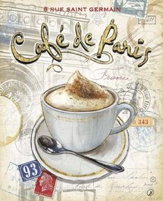 Café Paris Prints by Chad Barrett at AllPosters.com
