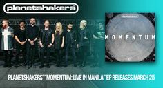 """Planetshakers' """"Momentum: Live In Manila"""" EP Releases Today! 