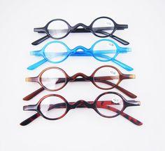 e156e5f0c810 Designer Small round Oval Vintage Reading Glasses Eyeglasses Readers CE +1  +2 +3