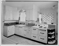1920s/1930s kitchen from library of congresswhitewall buick