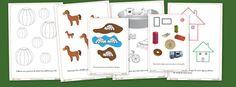Fichas para trabajar conceptos en educación infantil