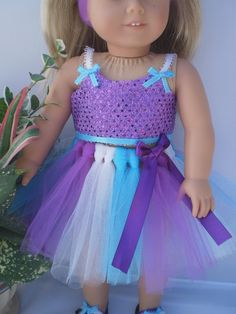 18 Doll Clothes American Girl or bitty baby by sassydollcreations, $19.99