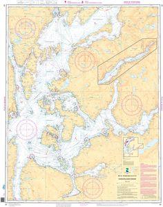 NHS Chart 20: Sunnhordalandsfjordene