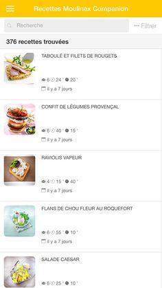 Moulinex Companion - Recettes dans l'App Store