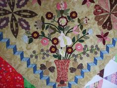 Treasure Quilts: Love Entwined deel 4 is af..... Love Entwined part 4 is finished.....