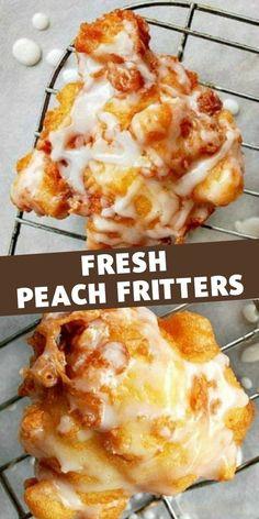 Fruit Recipes, Baking Recipes, Dessert Recipes, Recipies, Fun Desserts, Delicious Desserts, Yummy Food, Beignets, How Sweet Eats
