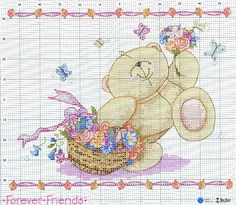forever friends cross stitch
