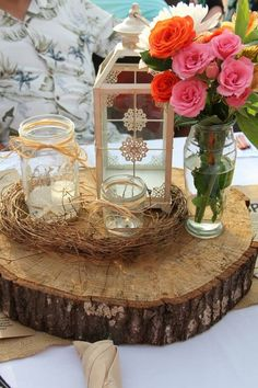 One Lantern - decorated sooo many ways! Wedding Rentals by Its Personal Wedding Staging and Design, Milton, FL Wedding Table Centerpieces, Table Decorations, Wedding Rentals, Staging, Lanterns, Rustic, Wedding Ideas, Beautiful, Beach