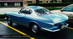 Volvo P1800 — will never get old.