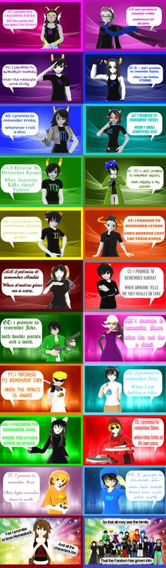 MMD Homestuck- Homestuck Poem by YugixYamiLove4ever