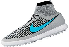 Nike MagistaX Proximo Turf Shoes - Wolf Grey and Blue