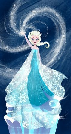 Letting Go by Amy Mebberson (Frozen)