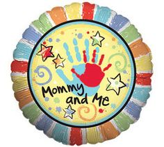 """Blueberry Lane Gifts - Mommy and Me 18"""" Mylar Balloon, $1.59 http://shop.blueberrylanestore.com/mommy-and-me-18-mylar-balloon/ Mother's Day, Balloon"""