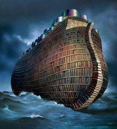 L'ARCA LETTERARIA: Salviamo i libri degli emergenti dal diluvio!