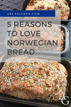 Norwegian Bread Recipe, Norwegian Food, Norwegian Recipes, Yeast Bread, Bread Baking, Savoury Baking, Keto Bread, Quick Bread, How To Make Bread