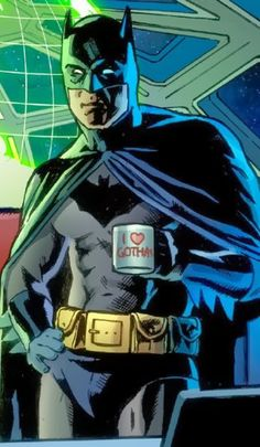 Because I love coffee....and Batman
