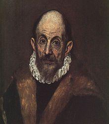 1.  El griego, nombre de arte de Dominikos Theotokopoulos ha sido un pintor, escultor y arquitecto griega vivencia en Italia y en España. Está entre las figuras más importantes del Renacimiento español.