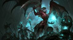 Diablo 3 inspired artwork done back in PR. Fantasy Art Women, Dark Fantasy Art, Fantasy World, Fantasy Artwork, Fantasy Character Design, Character Art, Character Reference, Character Concept, Beautiful Dark Art
