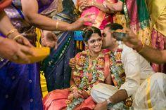 Tamil Brahmin or TamBrahm wedding