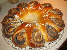 Bread Shaping, Hungarian Recipes, Challah, Something Sweet, Sweet Bread, Bagel, Muffin, Rolls, Yummy Food
