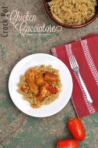 Crock Pot Chicken Cacciatore - Cherished Bliss