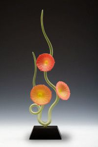 Warner Whitfield, Glass, Abstract Sculptures