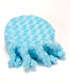 Turquoise Plushy Jellyfish Vibrating Pillow