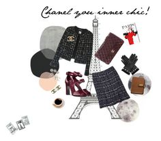 """Chanel you inner chic!"" by afatrustamova on Polyvore featuring DOMESTIC, Chanel, Gucci, Oliver Gal Artist Co., Dot & Bo and Mulberry"