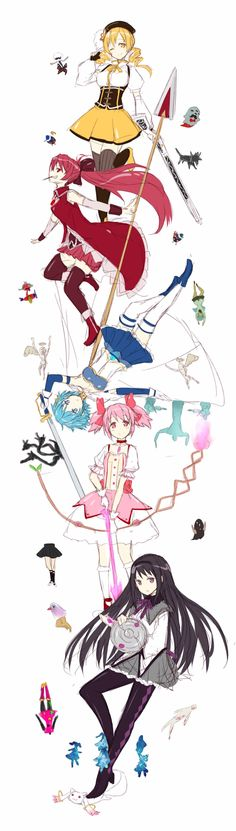 Sword Art Online....I think....I HAVEN'T WATCHED IT IN A LONG TIME OKAY << Puella Magi Madoka Magica but I mean sure