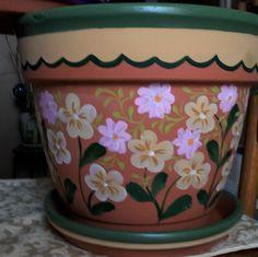"""12"""" Clay Flower Pot                                                                                                                                                                                 Más"""