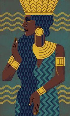 Anuket, Goddess of the River Nile