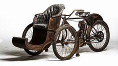 1907 Indian tri car.