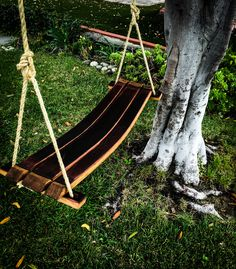 WINE BARREL STAVE SWING (full stave)