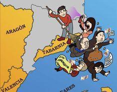 Qué es Tabarnia la ocurrencia que critica el independentismo catalán con otro movimiento independentista?