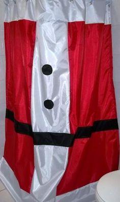 cortina para el bao navidea