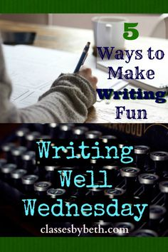 5 Ways to Make Writing Fun The Ultimate Pinterest Party, Week 85