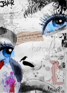 "Saatchi Online Artist Loui Jover; Mixed Media, ""perception"" #art"