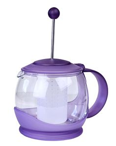 Purple Infuser Teapot from The Purple Store! Purple Stuff, All Things Purple, Shades Of Purple, Magenta, My Favorite Color, Favorite Things, Purple Kitchen, Purple Home, My Tea