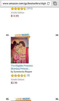#Amazon #bestseller #Indian #historical #TheEligiblePrincess Download a sample at: http://www.amazon.com/Eligible-Princess-Lakshaya-Kamboj-Princesses-ebook/dp/B00Z09FAQA