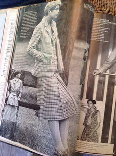The tweed suit  Vogue 1976