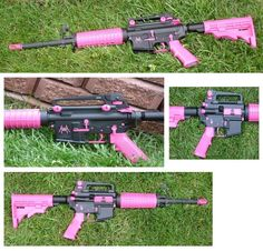 Pink AR15. I want one!