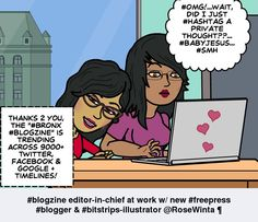this pre-made themed #bitstrips was perfect. even if it did include those hearts...| #blogzine ¶