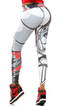 Fiber - Starwars Storm Trooper Leggings - Roni Taylor Fit