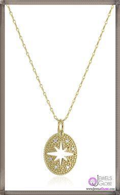 Mizuki 14k Gold and Diamond Oval Cut Out Starburst Pendant Necklace
