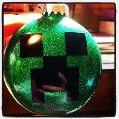 MineCraft Creeper Ornament.    $10.00 - Decalmania@rogers.com