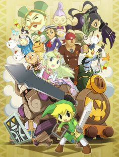 The Legend of Zelda - Spirit Tracks. LoZ game I'm currently playing to (and about to finish!)