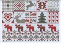 Thrilling Designing Your Own Cross Stitch Embroidery Patterns Ideas. Exhilarating Designing Your Own Cross Stitch Embroidery Patterns Ideas. Xmas Cross Stitch, Cross Stitch Charts, Cross Stitch Designs, Cross Stitching, Cross Stitch Embroidery, Embroidery Patterns, Cross Stitch Patterns, Theme Noel, Cross Stitch Animals