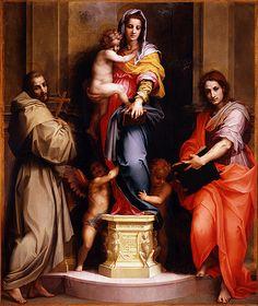 Madonna of the Harpies Galleria degli Uffizi Firenze  #TuscanyAgriturismoGiratola